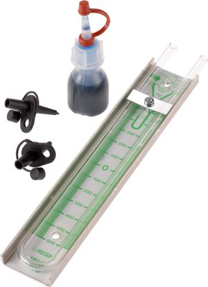 Szűrőelhasználtság mérő készülék MINI 1200 tip. 2 mérőponttal