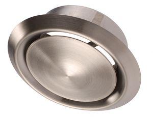 DVI 150 Befúvó és elszívó légszelep rozsdamentes acélból.