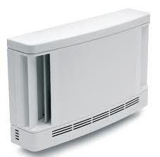 EFT 026 Fix léghozamú falátvezetéses légbevezető 35 m3/h (10 Pa), 70 m3/h (40 Pa), fehér