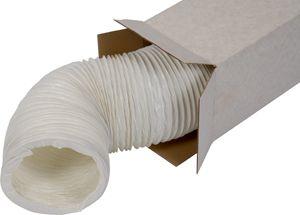 A PVC-W 152 ultra könnyű és hajlékony fehér színű légcsatorna. (NA152mm)(15m)