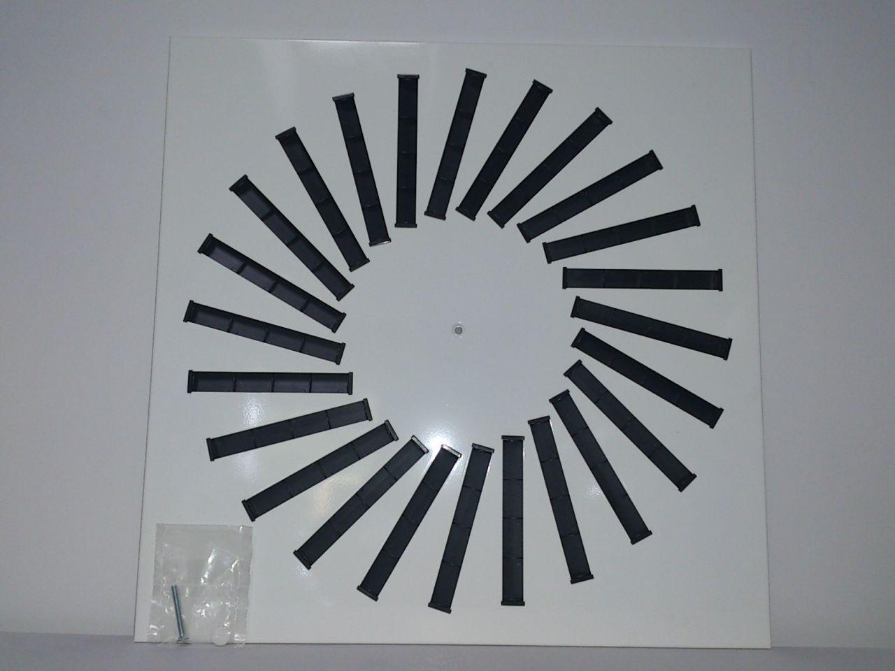 HAM GA 24/595 mennyezeti perdületbefúvó állítható lamellával