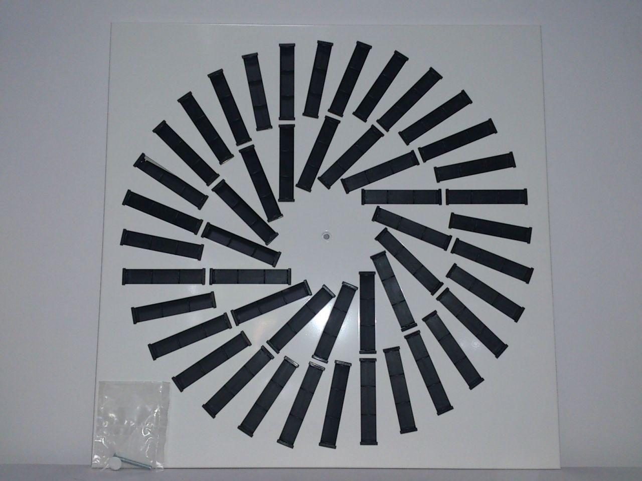 HAM GA 48/595 mennyezeti perdületbefúvó állítható lamellával