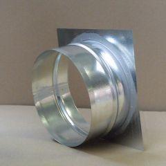 VFI15 /80mm csatlakozó csonk sík felületre INOX rozsdamentes, hőálló