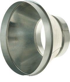 VFI08 150/125 koncentrikus szűkítő-idom rozsdamentes acélból (hőálló)