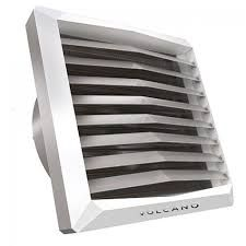 Volcano VR1EC termoventilátor konzollal,és vizes hőcserélővel 5-30 kW fűtőteljesítménnyel EC motorral