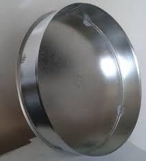 VFI03/125mm csővégzáró rozsdamentes acélból (hőálló)