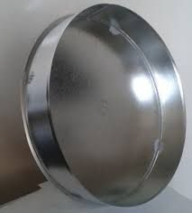 VFI03/315mm csővégzáró rozsdamentes acélból (hőálló)