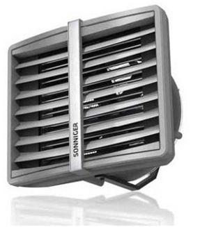 HEATER R1 termoventilátor AC motorral , Vmax=4900m3/h 10-30 kW