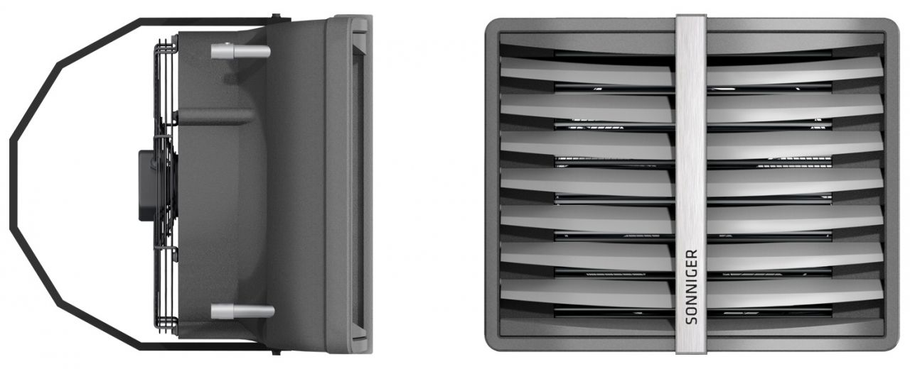 HEATER MIX légkeverő ventilátor AC motorral Vmax=5500m3/h (fűtés nélkül)