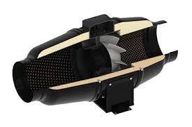TT MIX SILENT 150/160 Hangcsillapított fémházas csőventilátor NA 150/160 mm