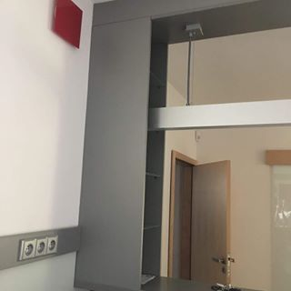 SKVE 125 CT Üveg frontlapos tányérszelep négyszög frontlappal, fényes,vagy matt felülettel, NA125 mm csonkkal