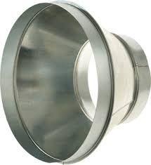 VFI08 160/125 koncentrikus szűkítő-idom rozsdamentes acélból (hőálló)