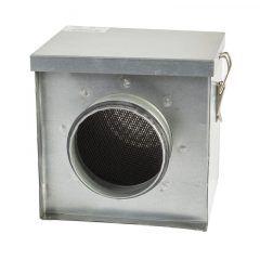 HAM ZSF 160 szűrődoboz zsíros levegő elszíváshoz horganyzott acélból lapszűrő betéttel