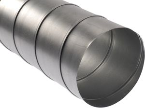 Spirálkorcolt acélcső NA 100 mm (L=3m / darab!)