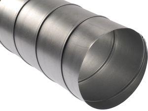 Spirálkorcolt acélcső NA 200 mm (L=3m / darab!)