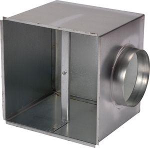 LDO 600-24 oldalsó kivezetésű csatlakozó doboz mennyezeti anemosztáthoz