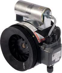 ERM 22 E Ex e robbanásbiztos félradiál csőventilátor NA 220mm