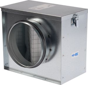 Légszűrődoboz NA 100mm-es csatlakozással