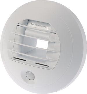 ALIZE HYGRO-VISION 100 15/75 m³/h Önszabályzó, páratartalom érzékelős légszelep infravörös érzékelővel.
