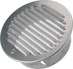 HBL-ROR 100 kültéri kör keresztmetszetű rács bogárvédő hálóval